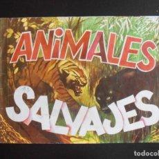 Coleccionismo Álbumes: ALBUM DE CROMOS, ANIMALES SALVAJES, 1982. FALTAN 125 CROMOS, DIFUSORA DE CULTURA. Lote 213799937