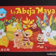 Coleccionismo Álbumes: ALBUM DE CROMOS, LA ABEJA MAYA, 1978. FALTAN 61 CROMOS, EDICIONES QUELCOM. Lote 213800132