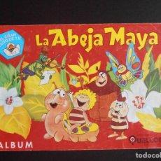 Coleccionismo Álbumes: ALBUM DE CROMOS, LA ABEJA MAYA, 1978. FALTAN 28 CROMOS, EDICIONES QUELCOM. Lote 213801771