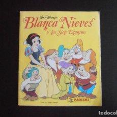 Coleccionismo Álbumes: ALBUM DE CROMOS, BLANCANIEVES, AÑOS 90. FALTAN 146 CROMOS, PANINI. Lote 213802183