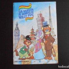 Coleccionismo Álbumes: ALBUM DE CROMOS, WILLY FOG, 1983, FALTAN 40 CROMOS, EDITORIAL MAGA. Lote 213803823