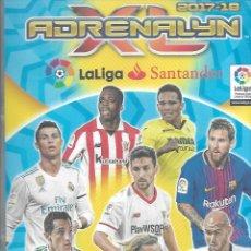 Coleccionismo Álbumes: ALBUM ADRENALYN 2017/2018 CON 545 FICHAS. Lote 214214588