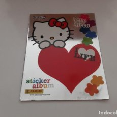 Collezionismo Album: ALBUM CROMOS PANINI HELLO KITTY I LOVE (A FALTA DE 24 CROMO STICKER). Lote 214245401