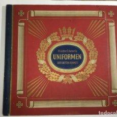 Coleccionismo Álbumes: ALBUM UNIFORMES MILITARES WALDORF ASTORIA UNIFORMEN DER ALTERN ARMEE. Lote 214273806