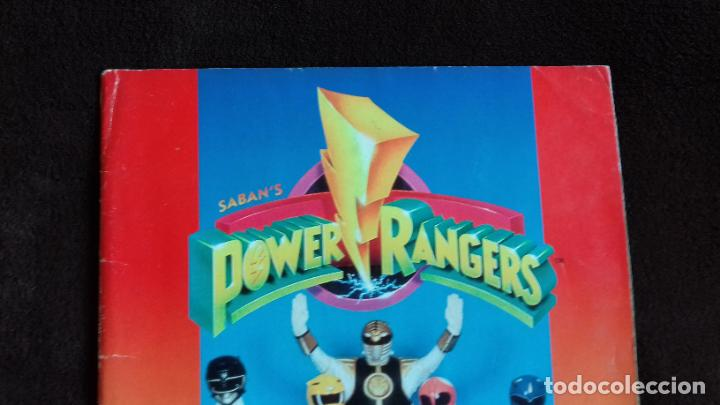 Coleccionismo Álbumes: POWER RANGERS SABANS. PANINI. 1996.ALBUM CROMOS INCOMPLETO - Foto 2 - 214502975