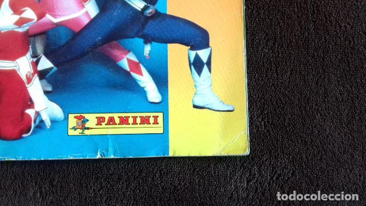 Coleccionismo Álbumes: POWER RANGERS SABANS. PANINI. 1996.ALBUM CROMOS INCOMPLETO - Foto 4 - 214502975