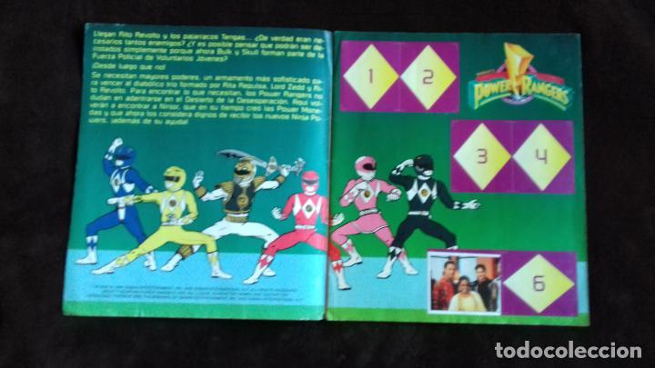 Coleccionismo Álbumes: POWER RANGERS SABANS. PANINI. 1996.ALBUM CROMOS INCOMPLETO - Foto 7 - 214502975