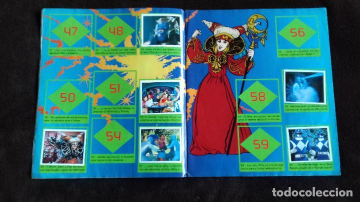 Coleccionismo Álbumes: POWER RANGERS SABANS. PANINI. 1996.ALBUM CROMOS INCOMPLETO - Foto 8 - 214502975