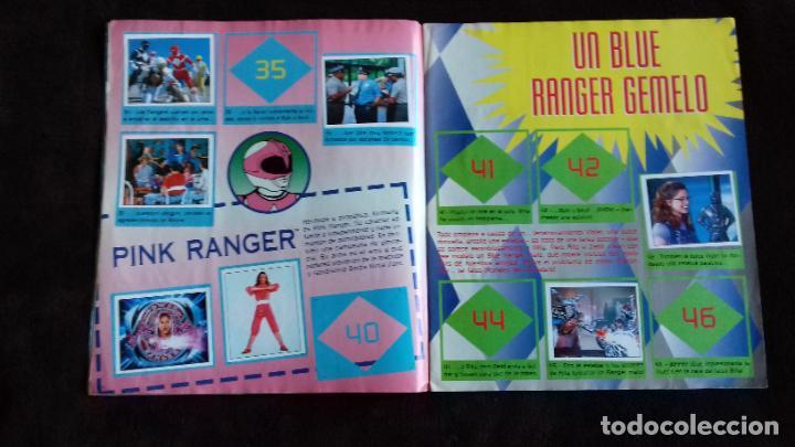 Coleccionismo Álbumes: POWER RANGERS SABANS. PANINI. 1996.ALBUM CROMOS INCOMPLETO - Foto 9 - 214502975