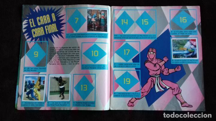 Coleccionismo Álbumes: POWER RANGERS SABANS. PANINI. 1996.ALBUM CROMOS INCOMPLETO - Foto 10 - 214502975