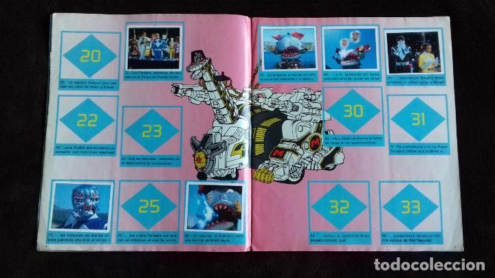 Coleccionismo Álbumes: POWER RANGERS SABANS. PANINI. 1996.ALBUM CROMOS INCOMPLETO - Foto 11 - 214502975