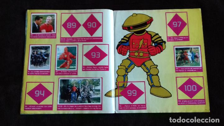 Coleccionismo Álbumes: POWER RANGERS SABANS. PANINI. 1996.ALBUM CROMOS INCOMPLETO - Foto 13 - 214502975
