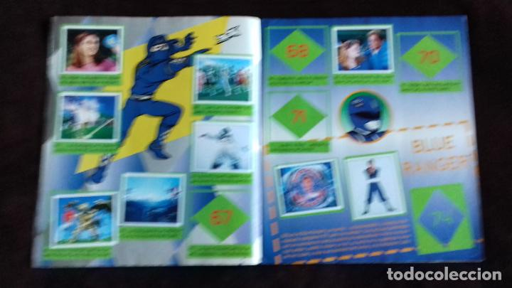 Coleccionismo Álbumes: POWER RANGERS SABANS. PANINI. 1996.ALBUM CROMOS INCOMPLETO - Foto 14 - 214502975