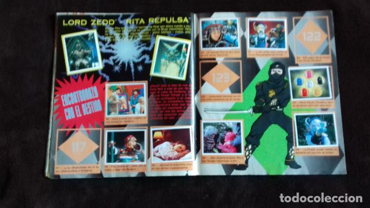 Coleccionismo Álbumes: POWER RANGERS SABANS. PANINI. 1996.ALBUM CROMOS INCOMPLETO - Foto 21 - 214502975