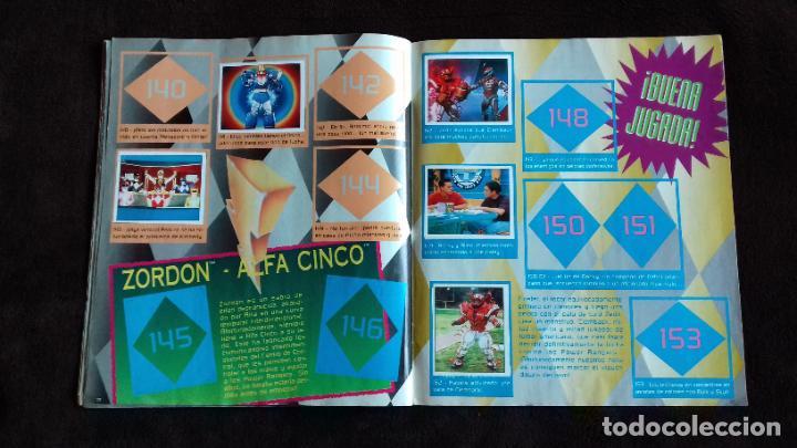 Coleccionismo Álbumes: POWER RANGERS SABANS. PANINI. 1996.ALBUM CROMOS INCOMPLETO - Foto 24 - 214502975