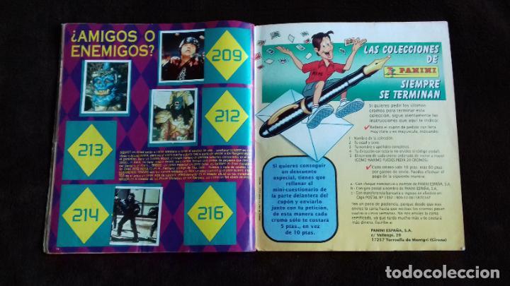 Coleccionismo Álbumes: POWER RANGERS SABANS. PANINI. 1996.ALBUM CROMOS INCOMPLETO - Foto 28 - 214502975