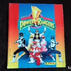 Coleccionismo Álbumes: POWER RANGERS SABAN'S. PANINI. 1996.ALBUM CROMOS INCOMPLETO. Lote 214502975
