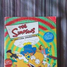 Coleccionismo Álbumes: THE SIMPSONS LA COLECCIÓN SPRINGFIELD II ALBUM INCOMPLETO FALTAN 33 CROMOS PANINI 2000. Lote 214650625