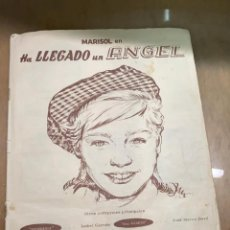 Coleccionismo Álbumes: ALBUM MARISOL HA LLEGADO UN ANGEL EDITORIAL FHER 1961 VER DESCRIPCION. Lote 214723282