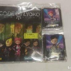 Coleccionismo Álbumes: CODE LYOKO DE PANINI_ALBUM Y CROMOS NUEVOS EN SU BLISTER 2014. Lote 215274013