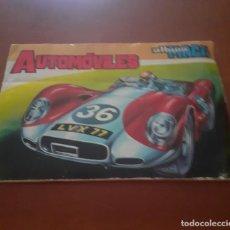 Coleccionismo Álbumes: ALBUM MAGA DE AUTOMOVILES AÑO 72. Lote 228526225