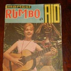 Coleccionismo Álbumes: ALBUM DE CROMOS MARISOL RUMBO A RÍO - ÁLBUM INCOMPLETO, FALTAN 10 CROMOS, LOS NUMEROS (15, 17, 41, 6. Lote 217122562