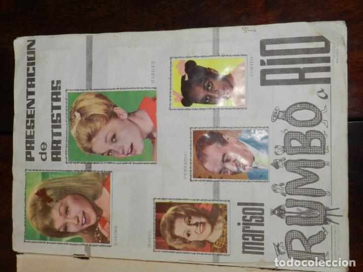 Coleccionismo Álbumes: Album de cromos Marisol Rumbo a Río - Álbum incompleto, faltan 10 cromos, los numeros (15, 17, 41, 6 - Foto 2 - 217122562