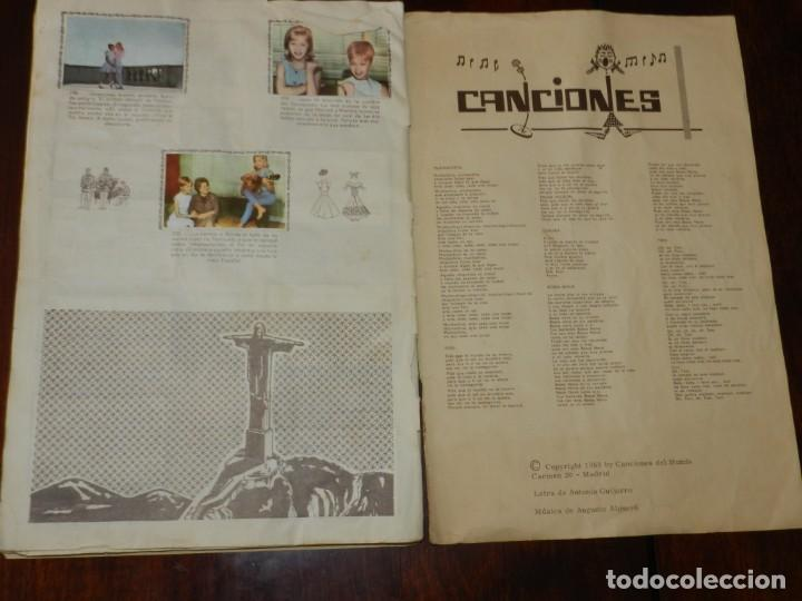 Coleccionismo Álbumes: Album de cromos Marisol Rumbo a Río - Álbum incompleto, faltan 10 cromos, los numeros (15, 17, 41, 6 - Foto 14 - 217122562
