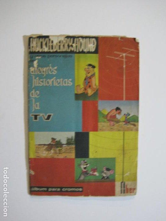 Coleccionismo Álbumes: HUCKLEBERRY HOUND-ALEGRES HISTORIETAS DE LA TV-ALBUM CASI COMPLETO-FALTA 1 CROMO-VER FOTOS(V-22.224) - Foto 2 - 218838445