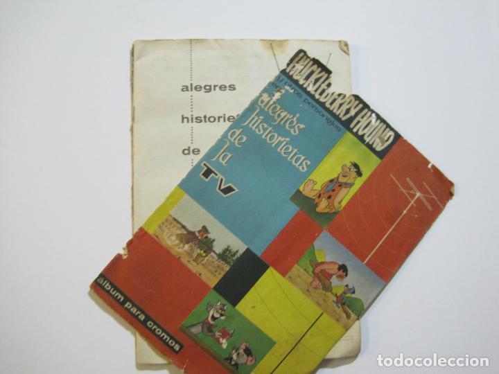 Coleccionismo Álbumes: HUCKLEBERRY HOUND-ALEGRES HISTORIETAS DE LA TV-ALBUM CASI COMPLETO-FALTA 1 CROMO-VER FOTOS(V-22.224) - Foto 4 - 218838445