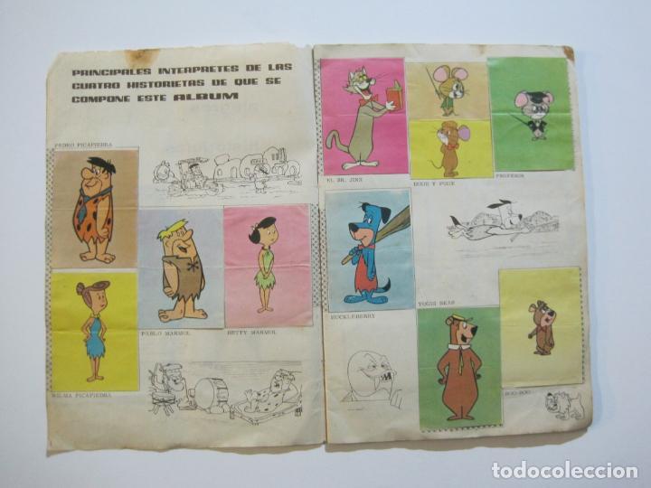 Coleccionismo Álbumes: HUCKLEBERRY HOUND-ALEGRES HISTORIETAS DE LA TV-ALBUM CASI COMPLETO-FALTA 1 CROMO-VER FOTOS(V-22.224) - Foto 7 - 218838445