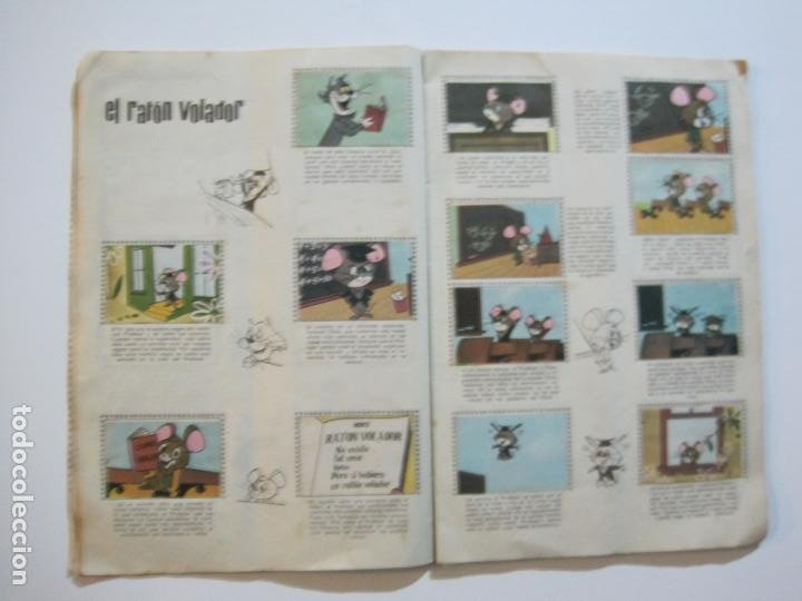 Coleccionismo Álbumes: HUCKLEBERRY HOUND-ALEGRES HISTORIETAS DE LA TV-ALBUM CASI COMPLETO-FALTA 1 CROMO-VER FOTOS(V-22.224) - Foto 12 - 218838445
