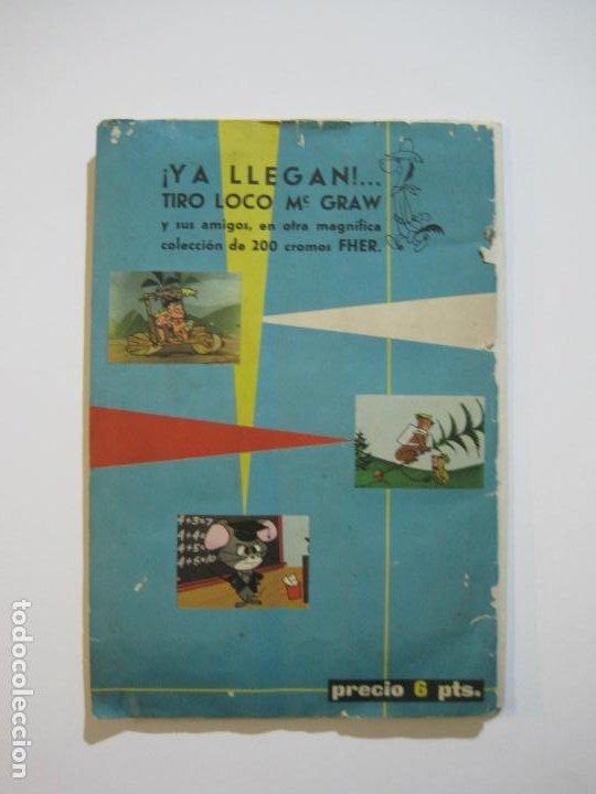 Coleccionismo Álbumes: HUCKLEBERRY HOUND-ALEGRES HISTORIETAS DE LA TV-ALBUM CASI COMPLETO-FALTA 1 CROMO-VER FOTOS(V-22.224) - Foto 29 - 218838445
