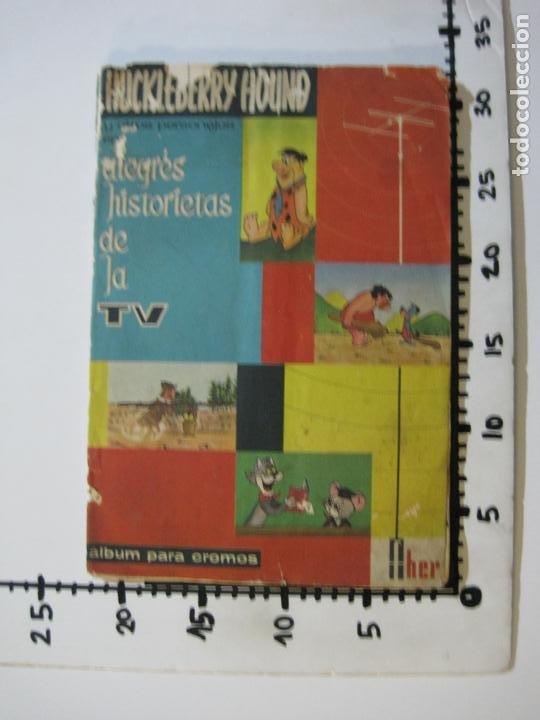Coleccionismo Álbumes: HUCKLEBERRY HOUND-ALEGRES HISTORIETAS DE LA TV-ALBUM CASI COMPLETO-FALTA 1 CROMO-VER FOTOS(V-22.224) - Foto 30 - 218838445