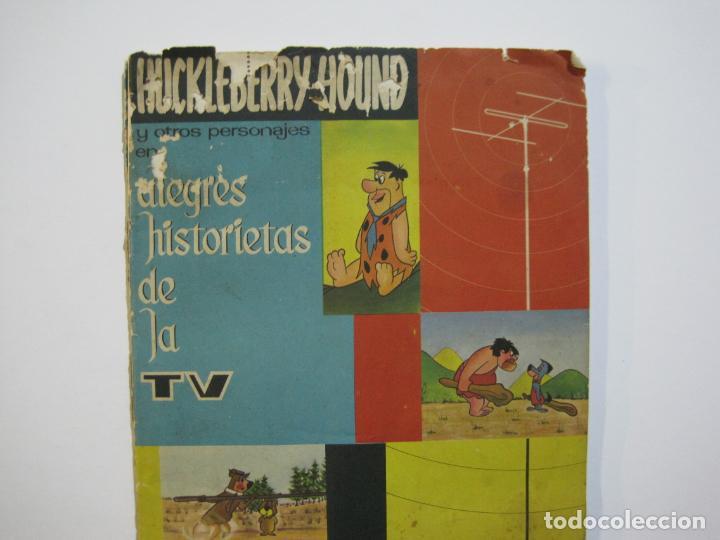 HUCKLEBERRY HOUND-ALEGRES HISTORIETAS DE LA TV-ALBUM CASI COMPLETO-FALTA 1 CROMO-VER FOTOS(V-22.224) (Coleccionismo - Cromos y Álbumes - Álbumes Incompletos)