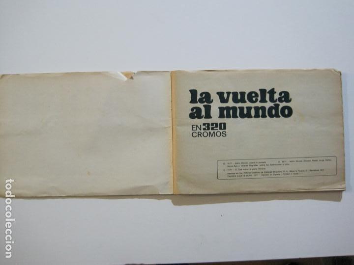 Coleccionismo Álbumes: LA VUELTA AL MUNDO EN 320 CROMOS-ALBUM CASI COMPLETO-EDITORIAL BRUGUERA-VER FOTOS-(V-22.231) - Foto 3 - 218839875