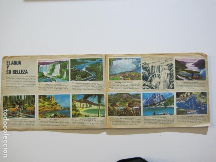 Coleccionismo Álbumes: LA VUELTA AL MUNDO EN 320 CROMOS-ALBUM CASI COMPLETO-EDITORIAL BRUGUERA-VER FOTOS-(V-22.231) - Foto 6 - 218839875