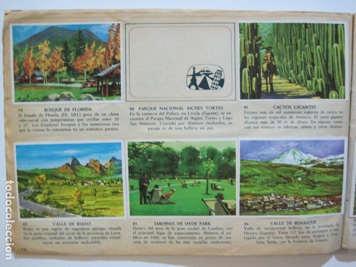Coleccionismo Álbumes: LA VUELTA AL MUNDO EN 320 CROMOS-ALBUM CASI COMPLETO-EDITORIAL BRUGUERA-VER FOTOS-(V-22.231) - Foto 12 - 218839875