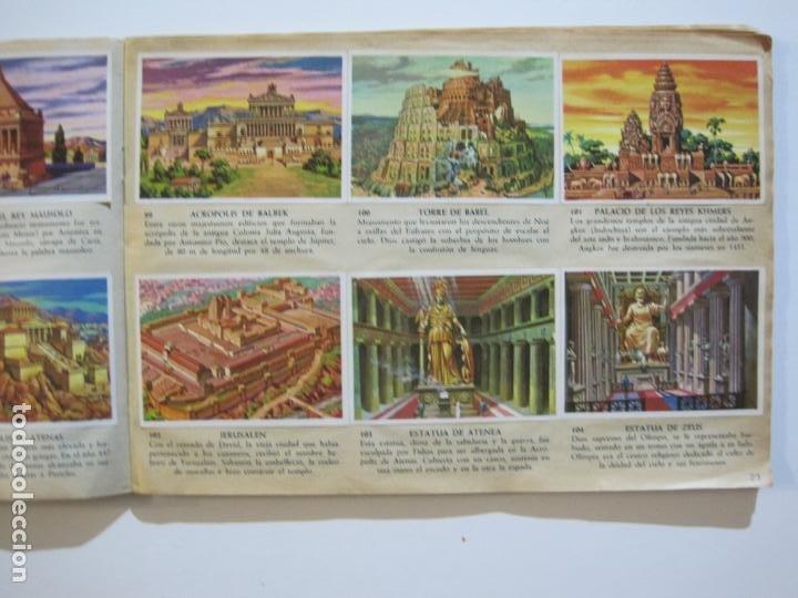 Coleccionismo Álbumes: LA VUELTA AL MUNDO EN 320 CROMOS-ALBUM CASI COMPLETO-EDITORIAL BRUGUERA-VER FOTOS-(V-22.231) - Foto 15 - 218839875