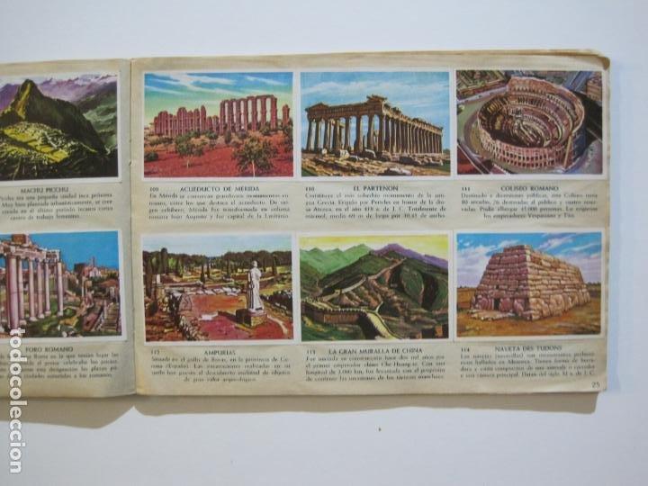 Coleccionismo Álbumes: LA VUELTA AL MUNDO EN 320 CROMOS-ALBUM CASI COMPLETO-EDITORIAL BRUGUERA-VER FOTOS-(V-22.231) - Foto 16 - 218839875