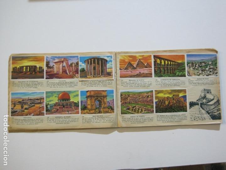 Coleccionismo Álbumes: LA VUELTA AL MUNDO EN 320 CROMOS-ALBUM CASI COMPLETO-EDITORIAL BRUGUERA-VER FOTOS-(V-22.231) - Foto 17 - 218839875