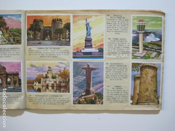 Coleccionismo Álbumes: LA VUELTA AL MUNDO EN 320 CROMOS-ALBUM CASI COMPLETO-EDITORIAL BRUGUERA-VER FOTOS-(V-22.231) - Foto 22 - 218839875