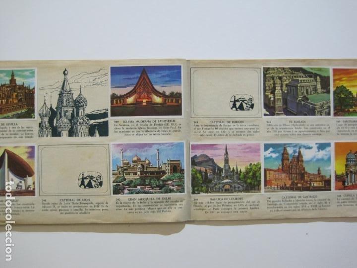 Coleccionismo Álbumes: LA VUELTA AL MUNDO EN 320 CROMOS-ALBUM CASI COMPLETO-EDITORIAL BRUGUERA-VER FOTOS-(V-22.231) - Foto 26 - 218839875