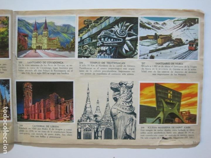 Coleccionismo Álbumes: LA VUELTA AL MUNDO EN 320 CROMOS-ALBUM CASI COMPLETO-EDITORIAL BRUGUERA-VER FOTOS-(V-22.231) - Foto 30 - 218839875