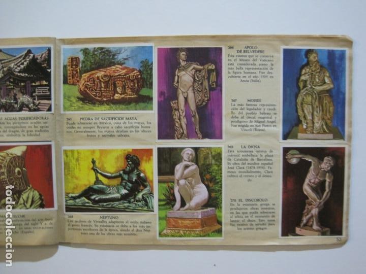 Coleccionismo Álbumes: LA VUELTA AL MUNDO EN 320 CROMOS-ALBUM CASI COMPLETO-EDITORIAL BRUGUERA-VER FOTOS-(V-22.231) - Foto 32 - 218839875