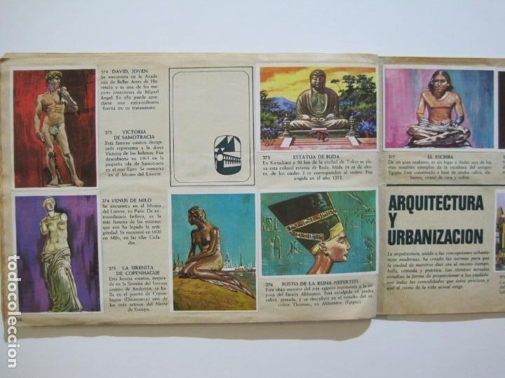 Coleccionismo Álbumes: LA VUELTA AL MUNDO EN 320 CROMOS-ALBUM CASI COMPLETO-EDITORIAL BRUGUERA-VER FOTOS-(V-22.231) - Foto 33 - 218839875
