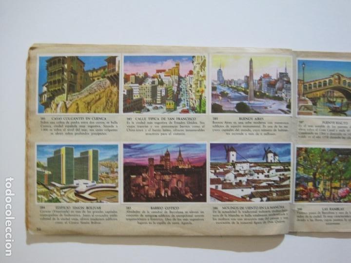 Coleccionismo Álbumes: LA VUELTA AL MUNDO EN 320 CROMOS-ALBUM CASI COMPLETO-EDITORIAL BRUGUERA-VER FOTOS-(V-22.231) - Foto 35 - 218839875