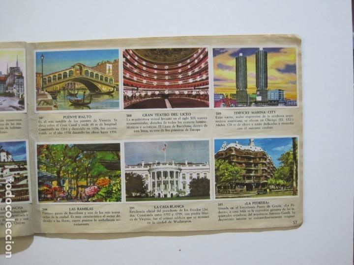 Coleccionismo Álbumes: LA VUELTA AL MUNDO EN 320 CROMOS-ALBUM CASI COMPLETO-EDITORIAL BRUGUERA-VER FOTOS-(V-22.231) - Foto 36 - 218839875
