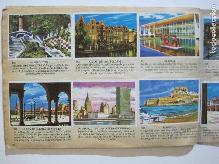 Coleccionismo Álbumes: LA VUELTA AL MUNDO EN 320 CROMOS-ALBUM CASI COMPLETO-EDITORIAL BRUGUERA-VER FOTOS-(V-22.231) - Foto 37 - 218839875