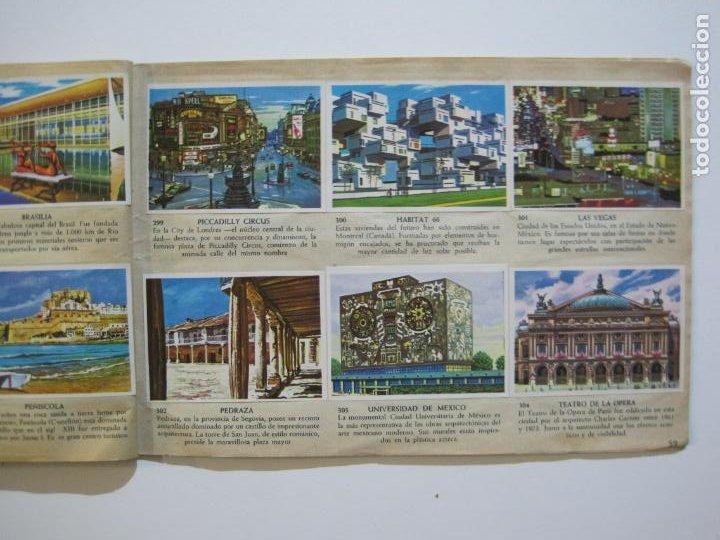 Coleccionismo Álbumes: LA VUELTA AL MUNDO EN 320 CROMOS-ALBUM CASI COMPLETO-EDITORIAL BRUGUERA-VER FOTOS-(V-22.231) - Foto 38 - 218839875